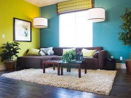 Clean Living Room After Completing House Cleaning Services